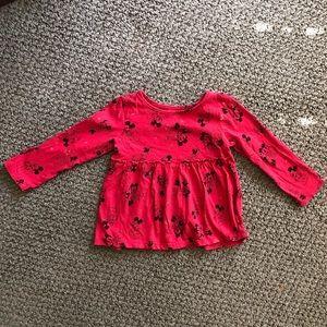 Toddler girl long sleeved shirt - Size 18M